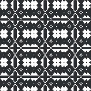 Charcoal_White_Aztec