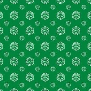 Green d20
