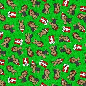 Merry Yorkie (Green Small)