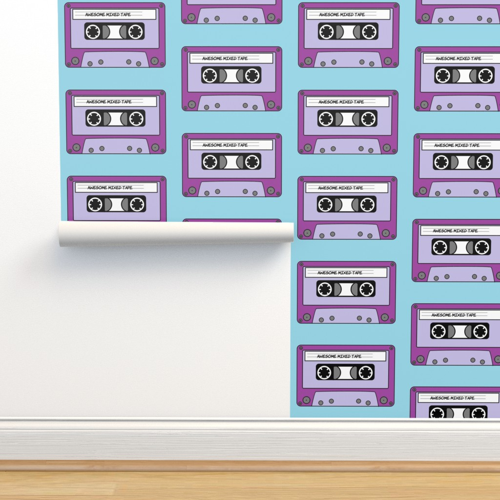 Isobar Durable Wallpaper featuring Awesome_Mixed_Tape_1 by greatfulthread