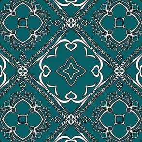 Project 404 | Boho Bandana | Line Art Quilt Pattern