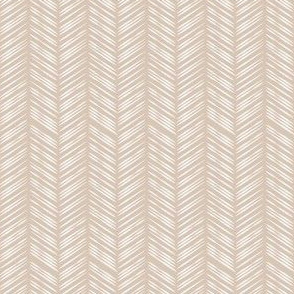 Herringbone: Tan