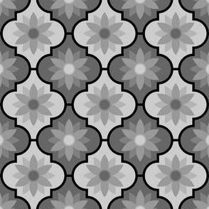 04048439 : crombus flower : greyscale