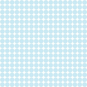 dots ice blue