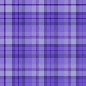 Blueberry Purple Plaid
