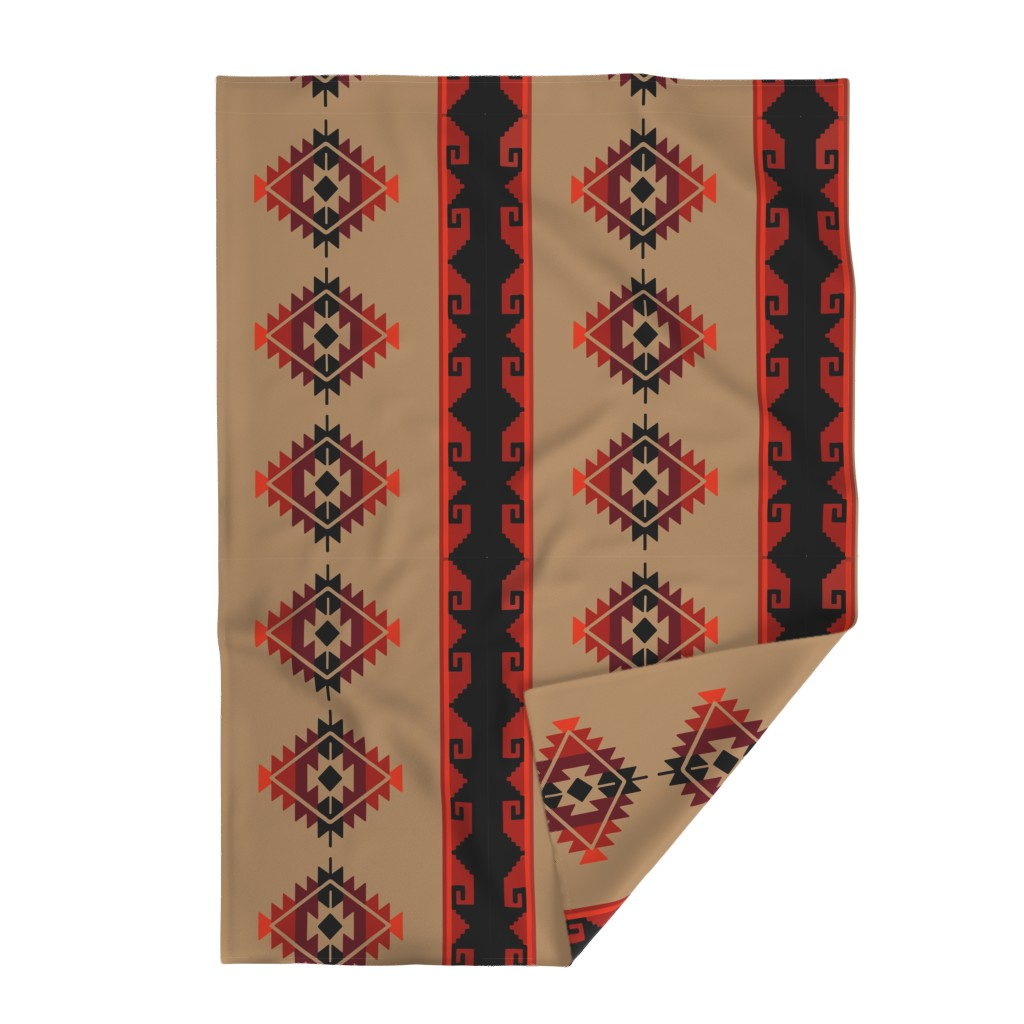 Lakenvelder Throw Blanket featuring daryl poncho by aspie_giraffe