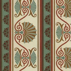 Classic Scalloped Shells ~ Original Victorian Palette