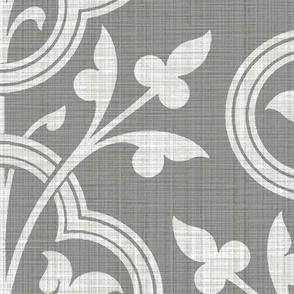 Norman Vines ~ Pewter Linen Luxe