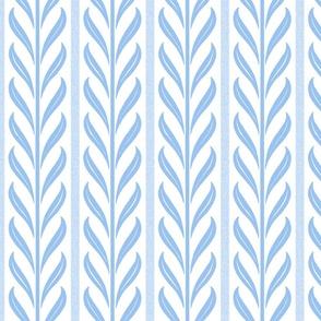 On the Vine ~ Jasper Blue and White