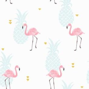 Pink Flamingo - bigger scale
