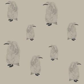 penguin light grey