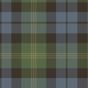 "Ancient Gordon tartan, 6"", traditional colors"