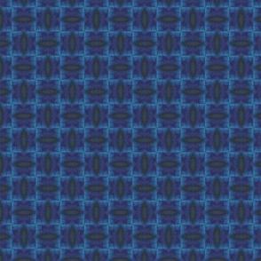 Watercolors Blue Weave Effect
