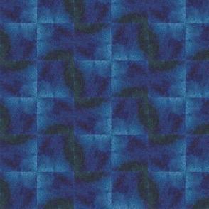 Watercolors Blue Pinwheels
