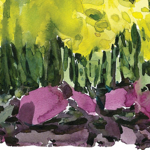 C'EST LA VIV™ Border Collection_Running Daffodils 28