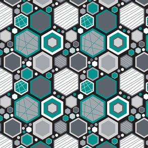 Hip Hexagons (Modern)