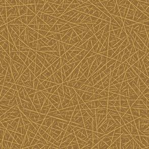pine needles - brown