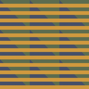 yellow stripes blue green houndstooth | pencilmeinstationery.com