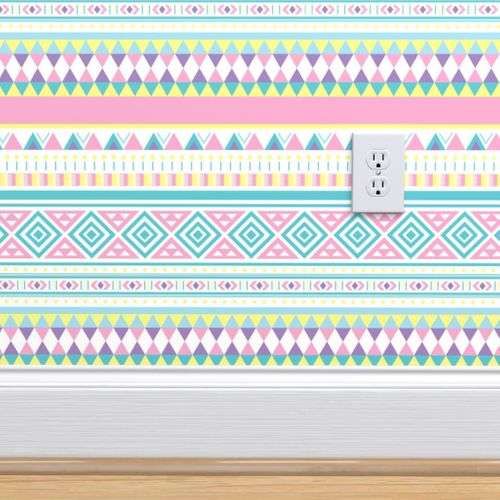 Wallpaper Southwest Aztec Print