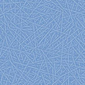 sharps on blue