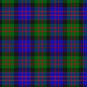 """MacDonald tartan, 3"""",  modern colors"""