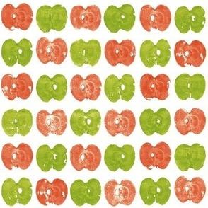 tiny apple prints