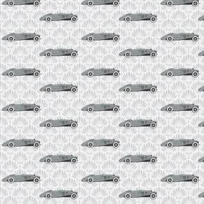 540k Mercedes - Waterlily Print