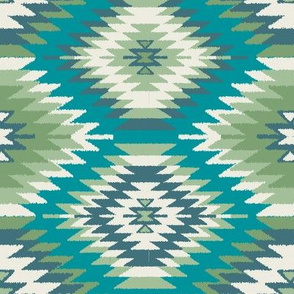 Navajo Dreams - Turquoise & Green