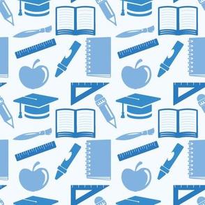 Back to School - 4in (blue)