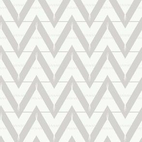 Teepee 3: medium, grey and white