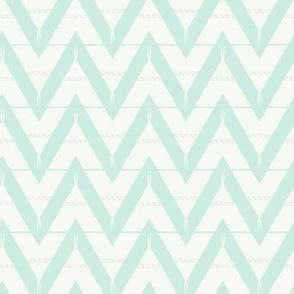 Teepee 3: medium, mint and white