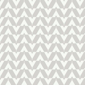 Teepee 4: small, grey and white