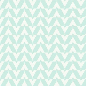 Teepee 4: small, mint and white