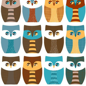 """5"""" owls, owls, and more owls"""