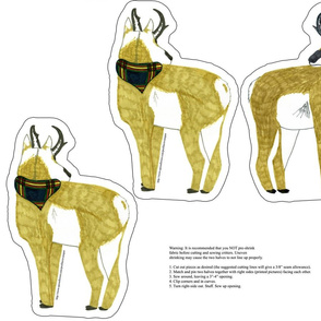 antelope plush yard for minky