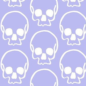 Skulls On Lavender