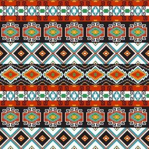 Southwest Tribal Stripes