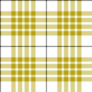 "Buchanan dress yellow tartan, 4"""