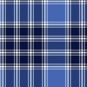 "MacDonald, Lord of the Isles tartan, 6"" blue"
