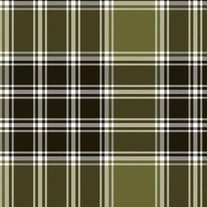 """MacDonald, Lord of the Isles tartan, 6"""" weathered brown"""
