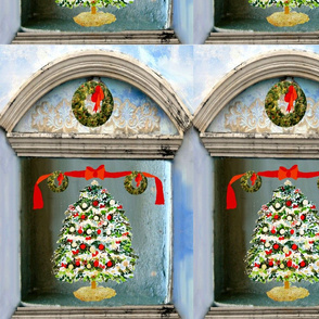A Christmas Tree Shadow Box