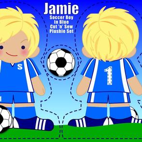 Jamie: Soccer Boy in Blue