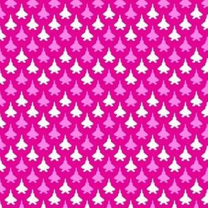 Jet Chevron (Pink)