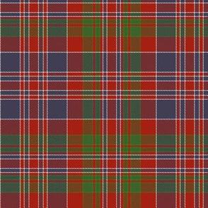 "MacDonald of Boisdale clan tartan, 6"""
