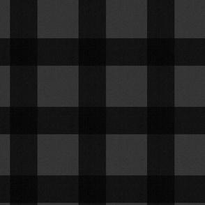 Buffalo Check - Grey Black