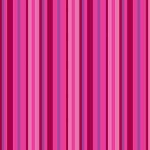Pink stripes - darker