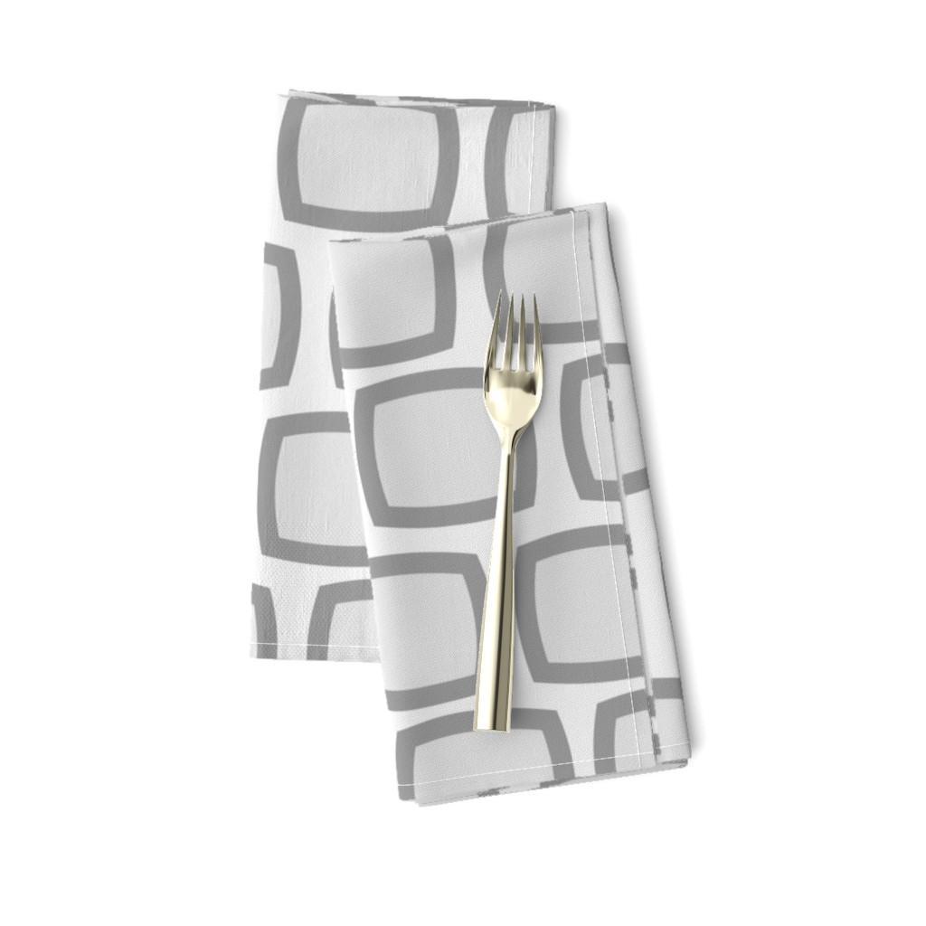 Amarela Dinner Napkins featuring Mid-Century Modern Geometric by hot4tees_bg@yahoo_com