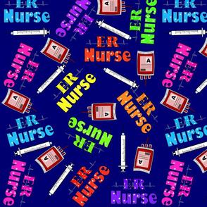 ER Nurse Navy
