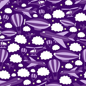 Fantastic Flying Machines (Purple)