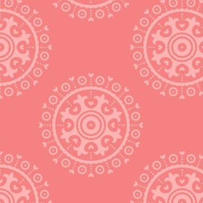 mod baby » suzani coral on coral